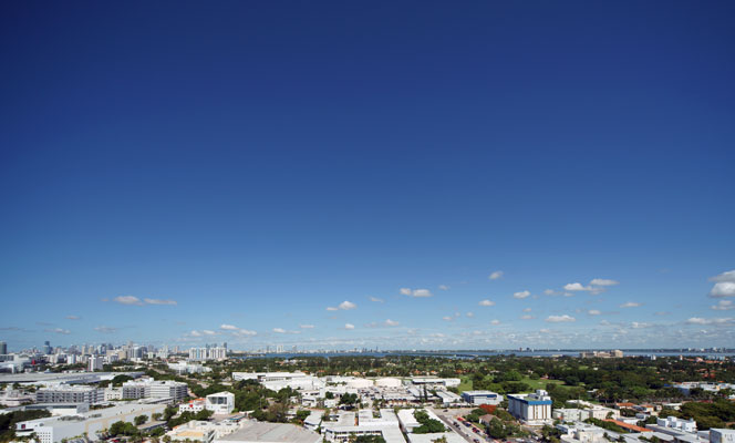 City View from Miami luxury condos