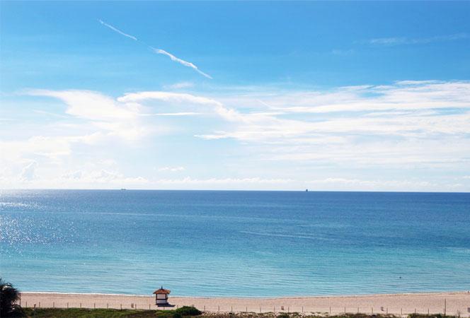 Miami beachfront condos
