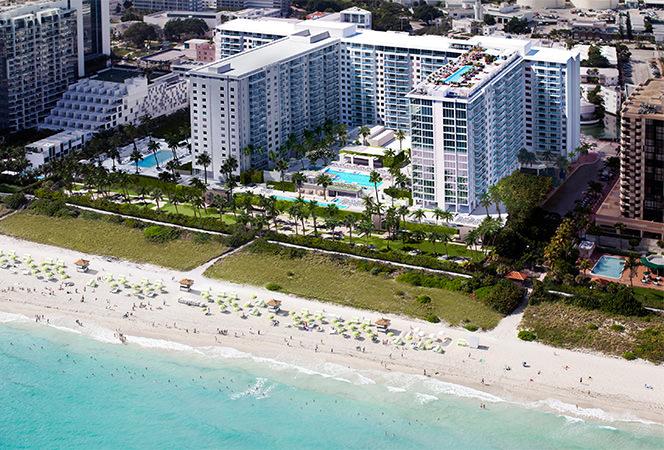 Miami beachfront condos exterior