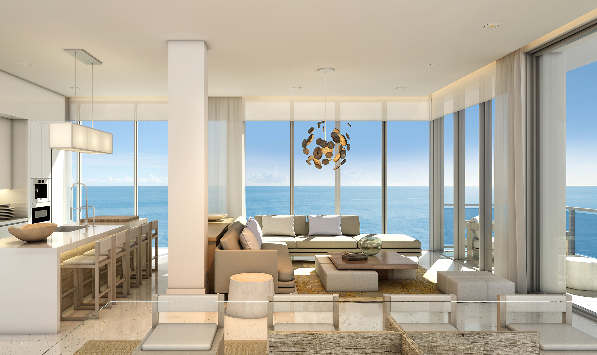 Debora Aguiar Design Miami Beachfront Condos 1 Hotel Homes South Beach