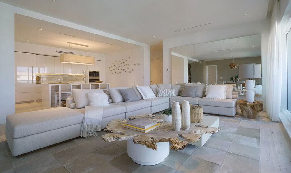 New Miami Penthouses For Sale Living Room